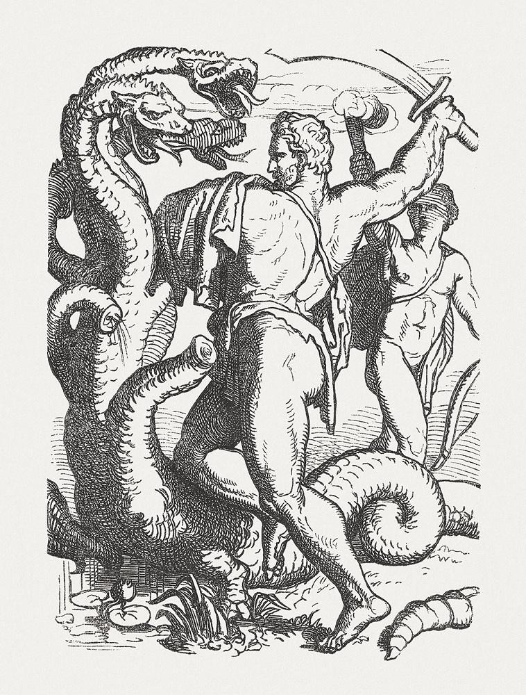 希臘神話九頭蛇的再生能力:砍了一個我,還有千千萬萬個我。(圖/取自iStock)