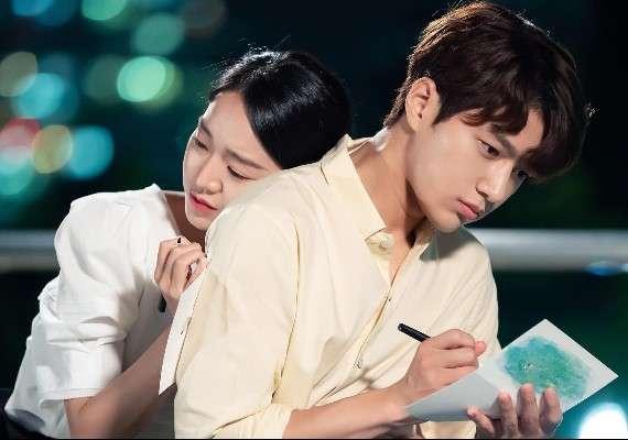 在《僅此一次的愛情》中,男女主角的演技獲得極高的肯定。(圖/取自網路溫度計)