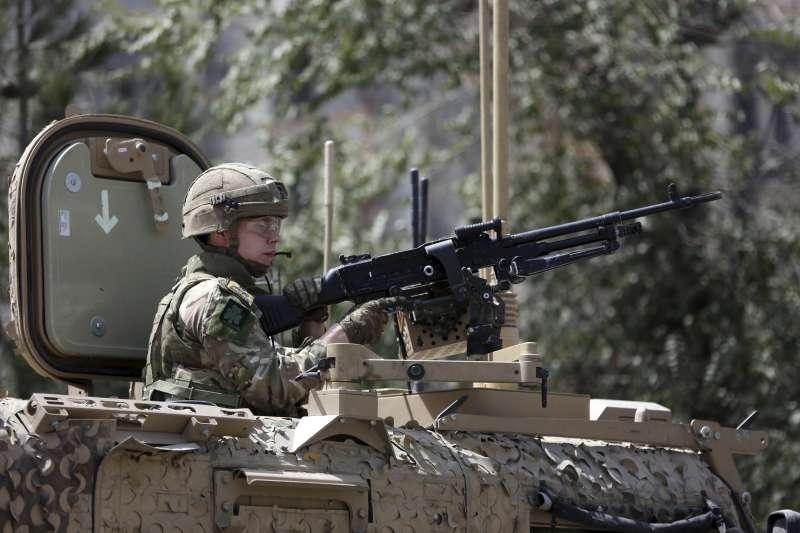 2019年,阿富汗戰爭進入第18年,和平遙遙無期,大批美軍駐紮(AP)