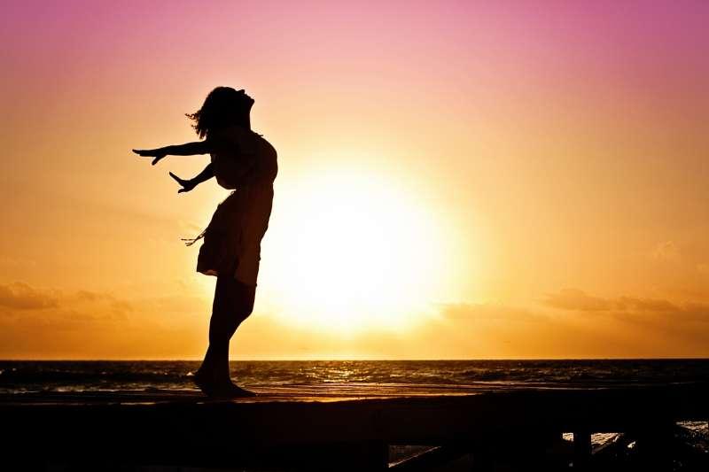 希望,自由,重生,示意圖。(取自pixabay)