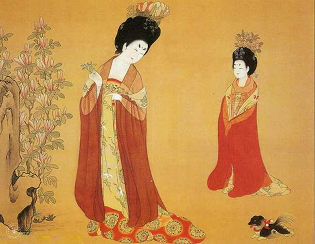 古代女子也是會穿得比較輕薄的。(圖/取自Would You Magazine)