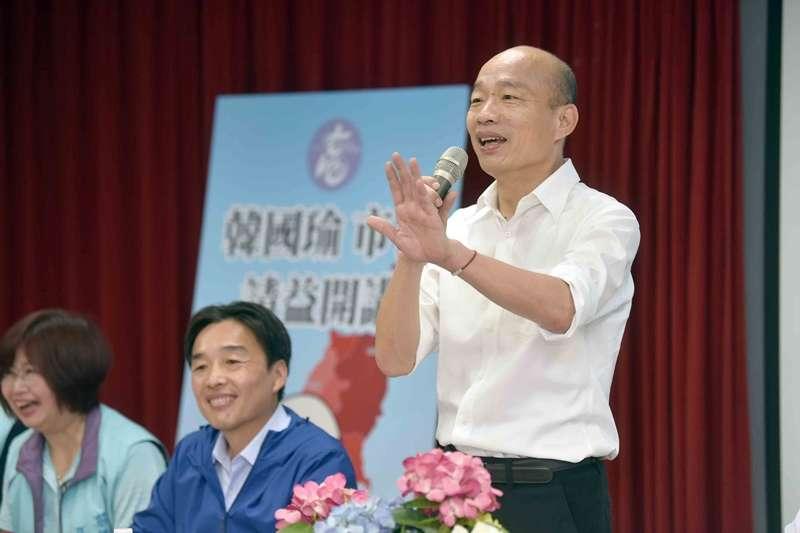 20190911-高雄市長韓國瑜率市府團隊前往前鎮區進行市政請益。(高雄市政府提供)