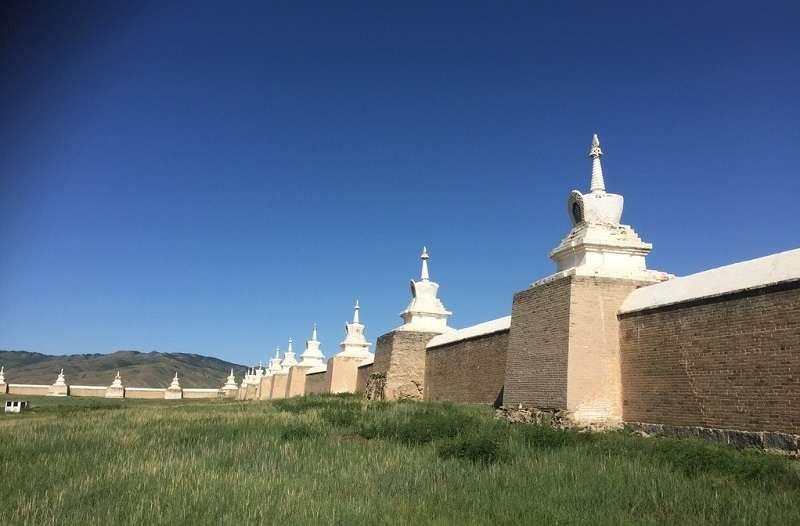 20190912-哈剌和林遺址,大蒙古帝國十三世紀的都城。(烏凌翔提供)