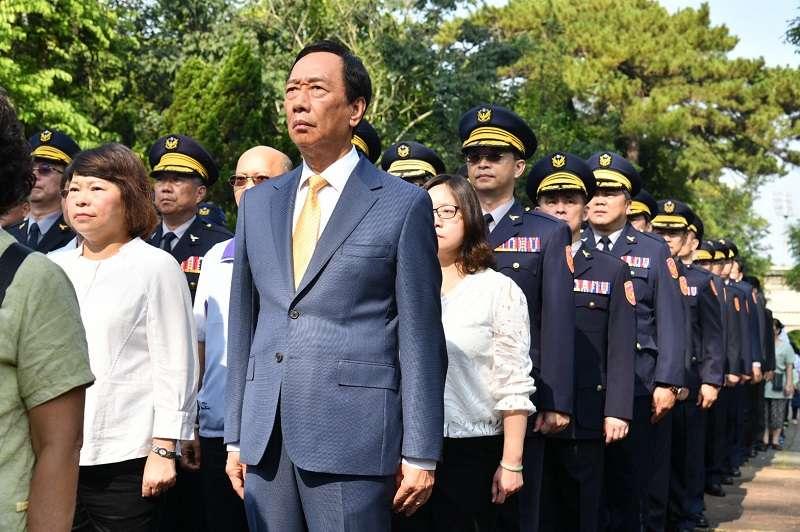 鴻海集團創辦人郭台銘宣布退出國民黨。(取自郭台銘臉書)
