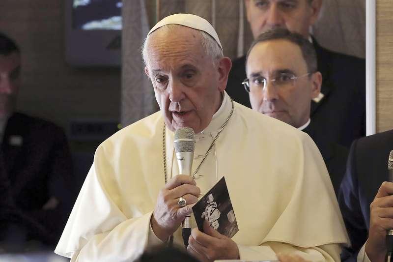 天主教教宗方濟各(Pope Francis)(AP)