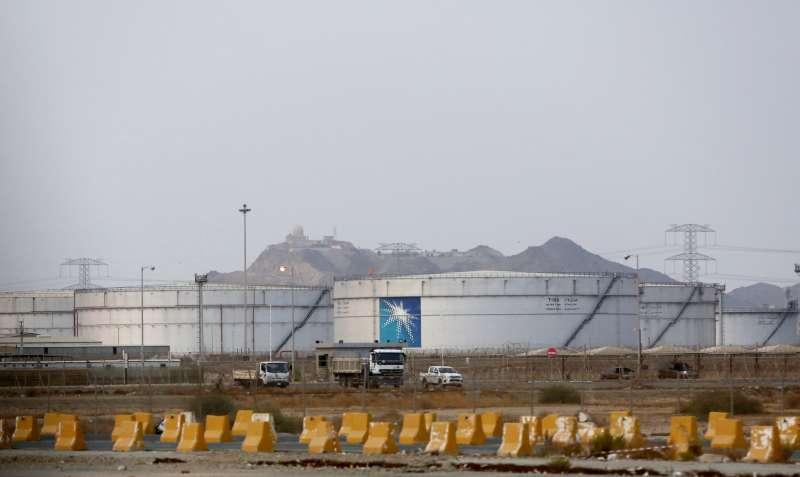 沙烏地阿拉伯國家石油公司(Saudi Aramco)位於沙國的石油設施(AP)