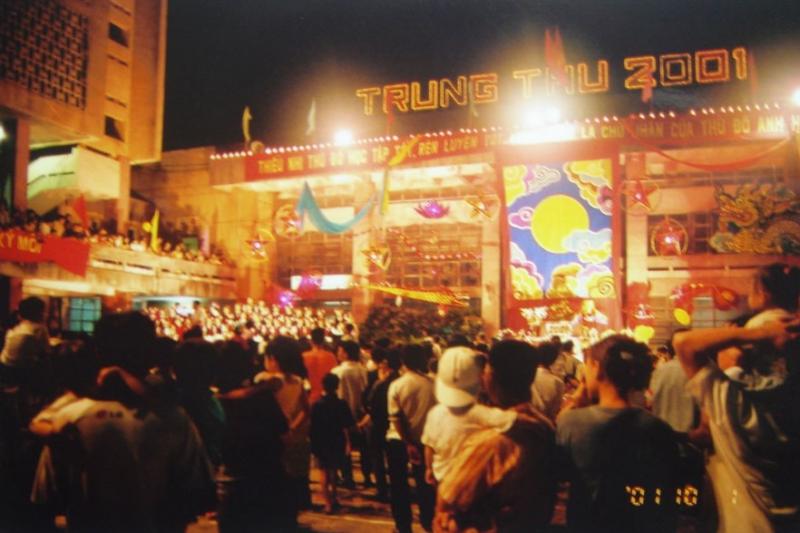 河內市2001年中秋活動一景。(圖/想想論壇)