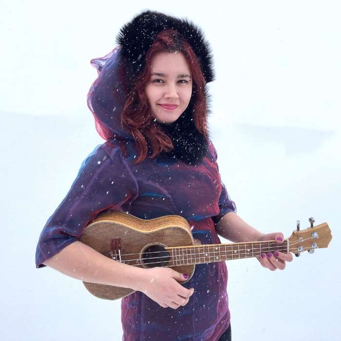 因紐特音樂人阿希瓦(Aasiva )(第十七屆流浪之歌音樂節提供)
