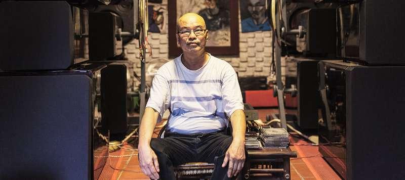 越南音樂人厄戴(第十七屆流浪之歌音樂節提供)