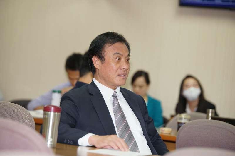 20190919-立法院外交國防委員會召委選舉,院長蘇嘉全出席。(盧逸峰攝)