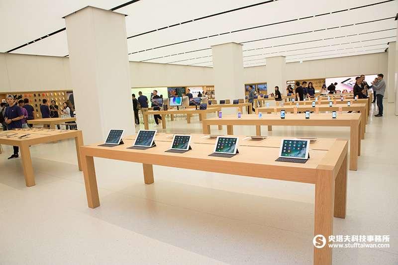 Apple直營店是新品最先上市的地方