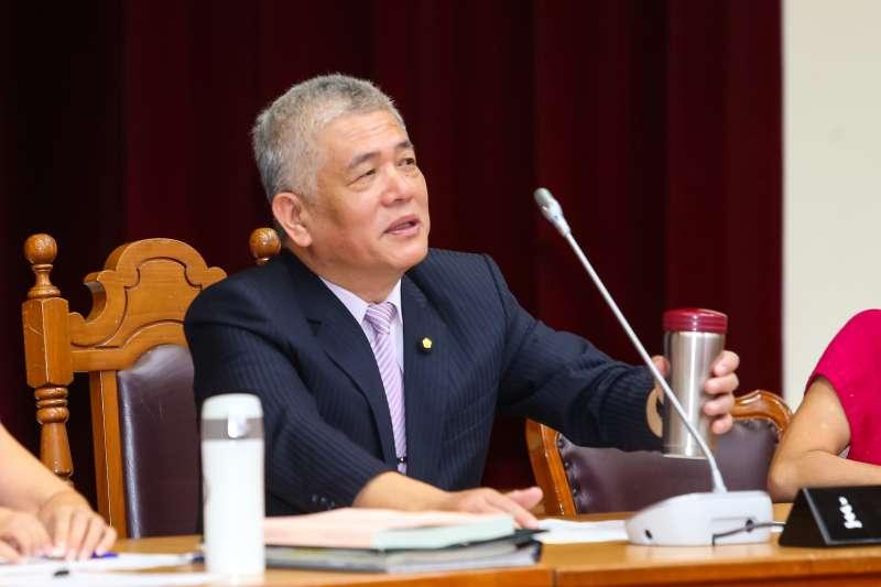 20190919-民進黨立委施義芳19日當選財政委員會召委。(顏麟宇攝)