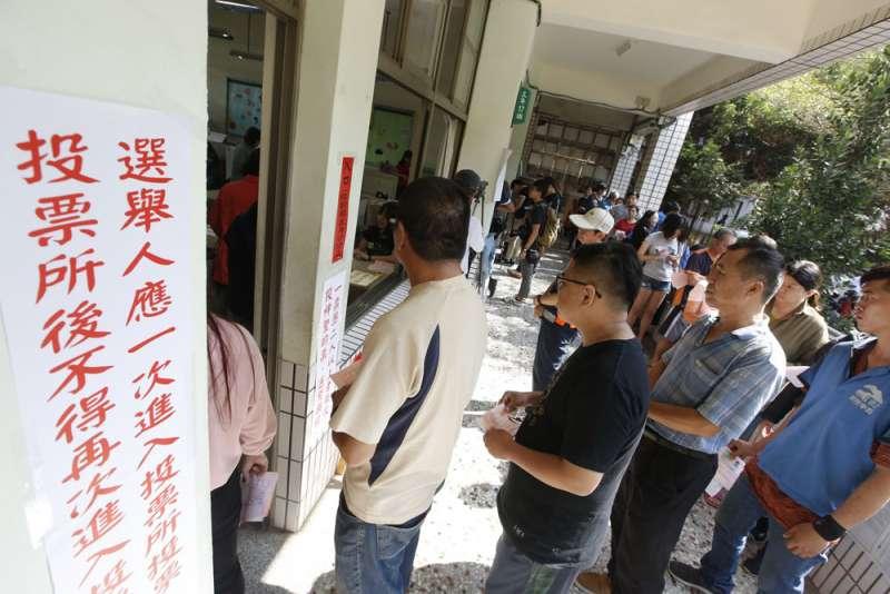 明年大選全台將增設1346個投開票所、並下調各所投票人數上限為1200人。(郭晉瑋攝)