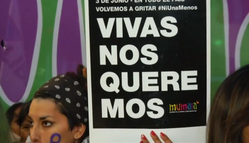 「一個都不能少」示威活動常用的Hashtag「我們想要活下去」。(圖片擷取自Youtube)