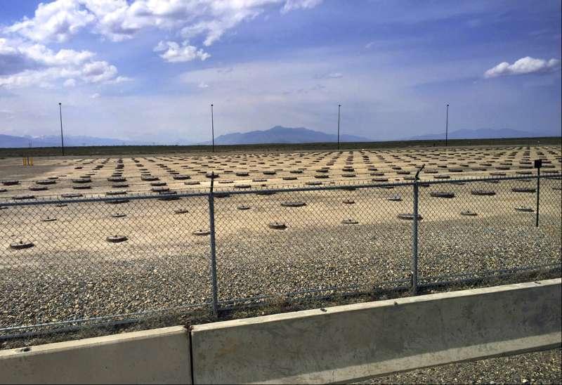 位於美國愛達荷州的三哩島核廢料掩埋場。(AP)