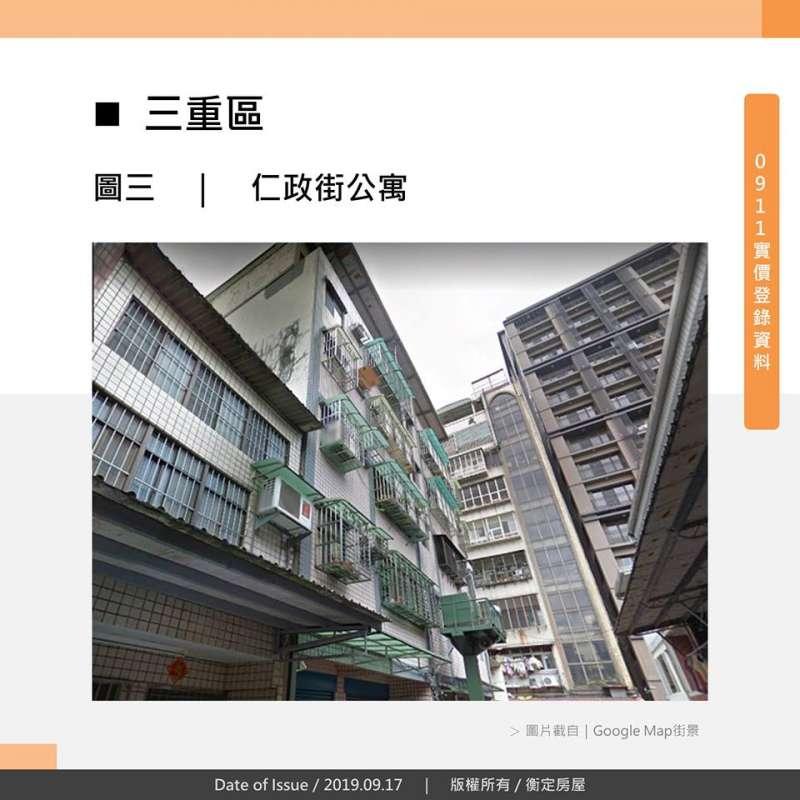 三重區 仁政街公寓