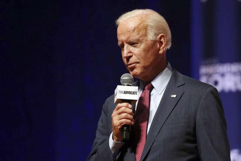 美國前副總統、2020年民主黨總統參選人拜登(Joe Biden)(AP)