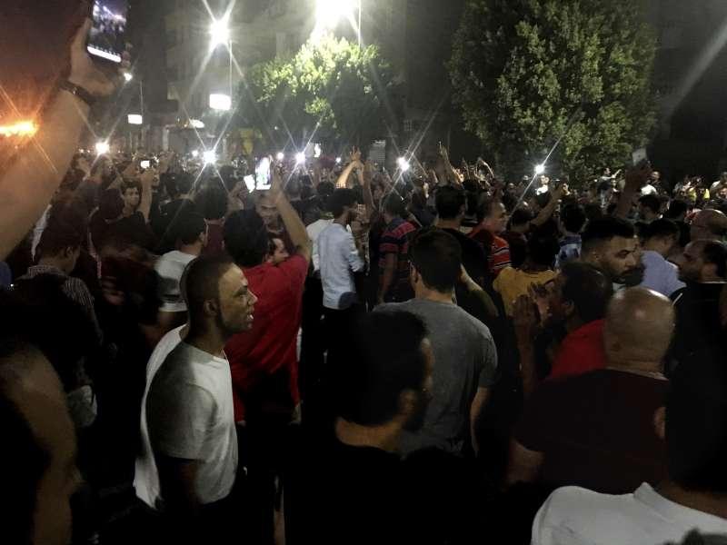 20190921-埃及民眾走上開羅街投示威(AP)