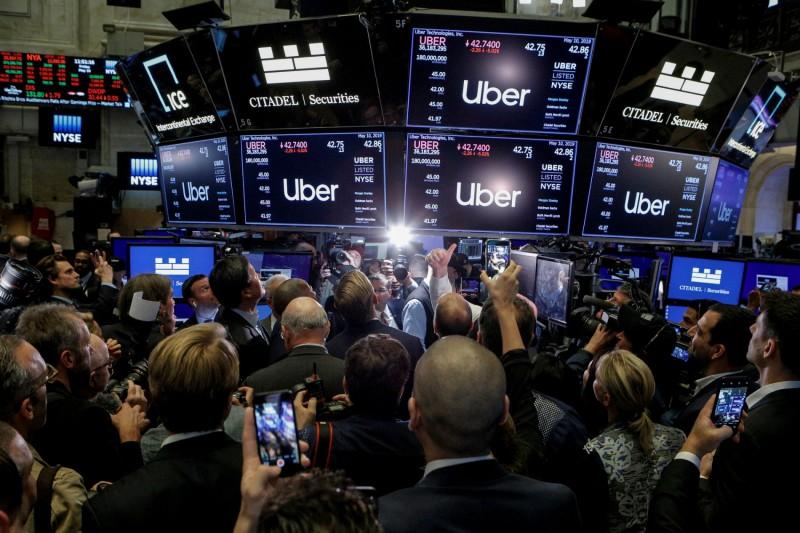 今年 5 月,Uber 在紐約交易所上市。(圖片來源:路透社)