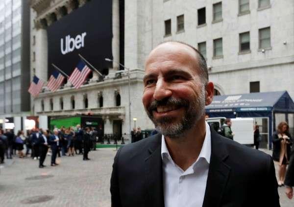 接任 Uber 行政總裁一職的 Dara Khosrowshahi 對公司未來充滿希望。(圖片來源:路透社)