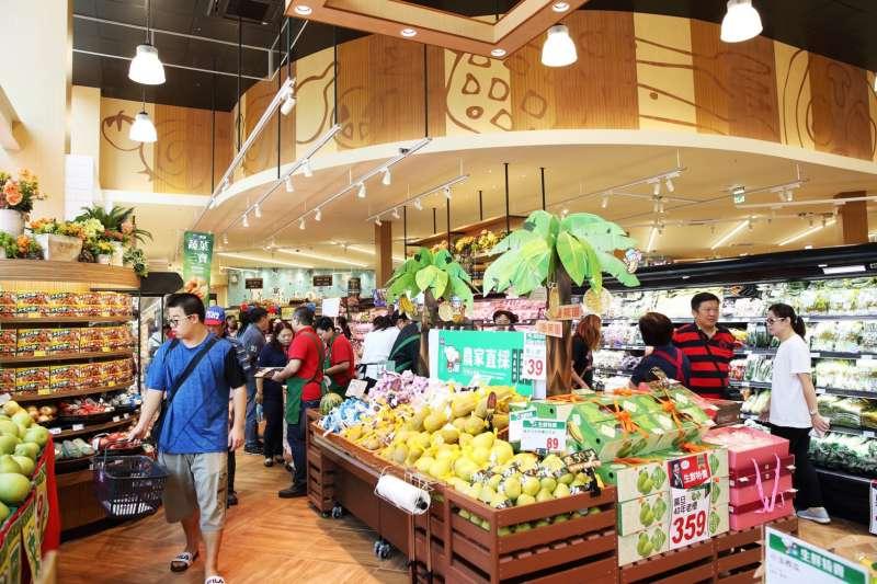 擁有「西川元素」的店型成本最高約1900萬元,成本些微高出全聯一般門市,質感大幅提升。