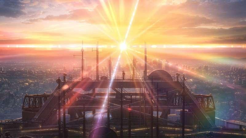 《天氣之子》維持新海誠導演一貫的精美畫風,上映後備受好評。(圖/IMDb)