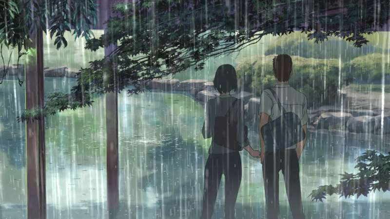 新海誠導演2013年作品《言葉之庭》,也同樣充滿了雨水。Floods Maps
