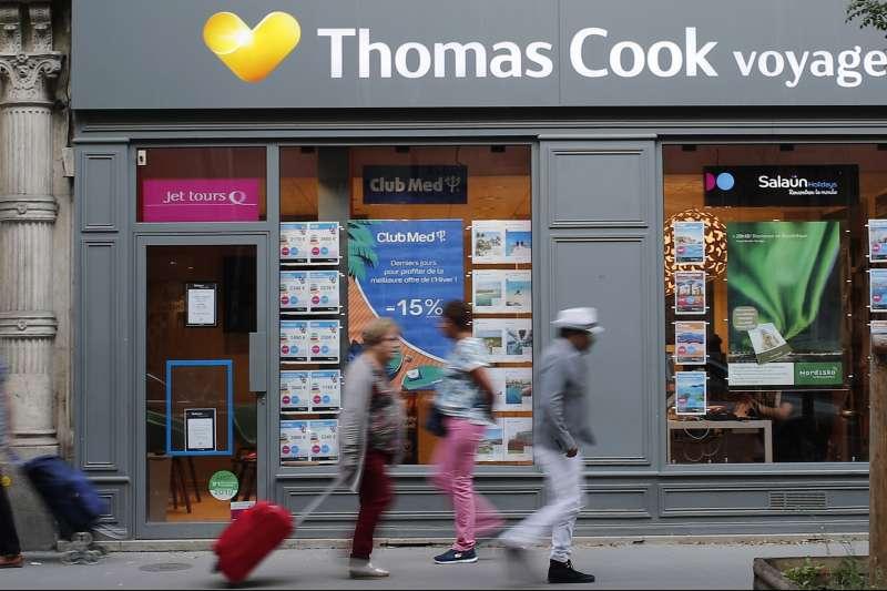 Thomas cook近年不敵廉價航空、互聯網等興起,利潤大受影響(AP)