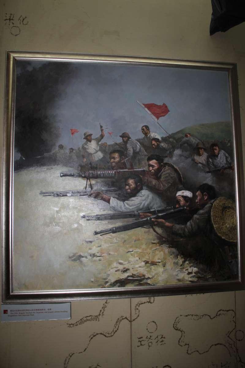 在廣東與港九地區活躍的東江縱隊,因為援助盟軍戰俘及落難飛行員的關係,被美英視為一支可靠的作戰隊伍。(作者許劍虹提供)