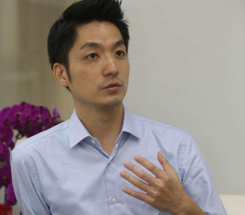 不少人斷言蔣萬安是下一屆台北市長熱門人物。(柯承惠攝)