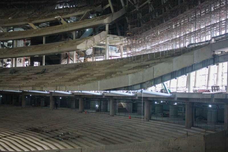 20190926-台北市議會工務委員會今日前往大巨蛋工區考察。(方炳超攝)