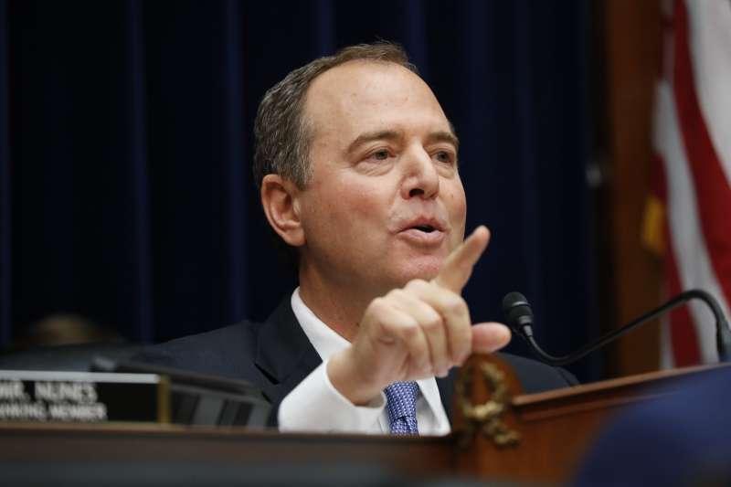 烏克蘭門醜聞:美國聯邦眾議院情報委員會主席席夫(AP)