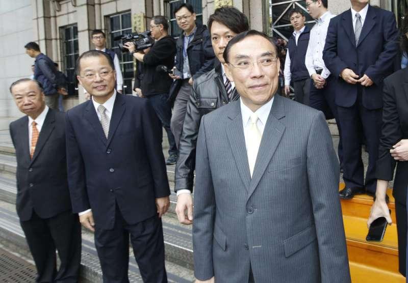 蔡清祥(右)去年親自帶隊,觀摩日本檢察審查會的實務操作流程。(郭晉瑋攝)