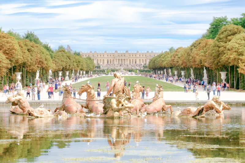 凡爾賽宮。(圖/INSIDR)