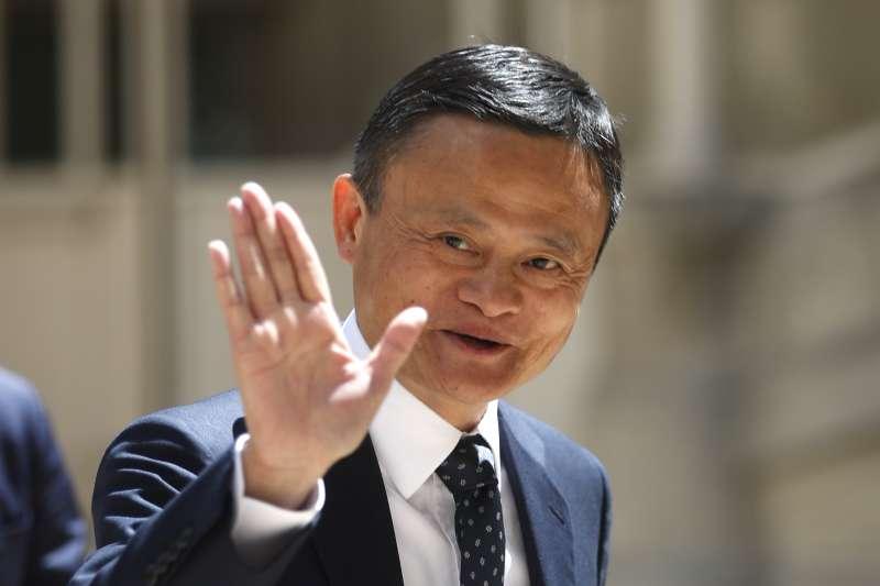 有「中國電商之父」稱號的阿里巴巴集團創辦人馬雲,2019年5月出席巴黎活動。中國正在籌備「十一國慶」,展現建國70年來在經濟、軍事等發展方向的繁榮。(AP)
