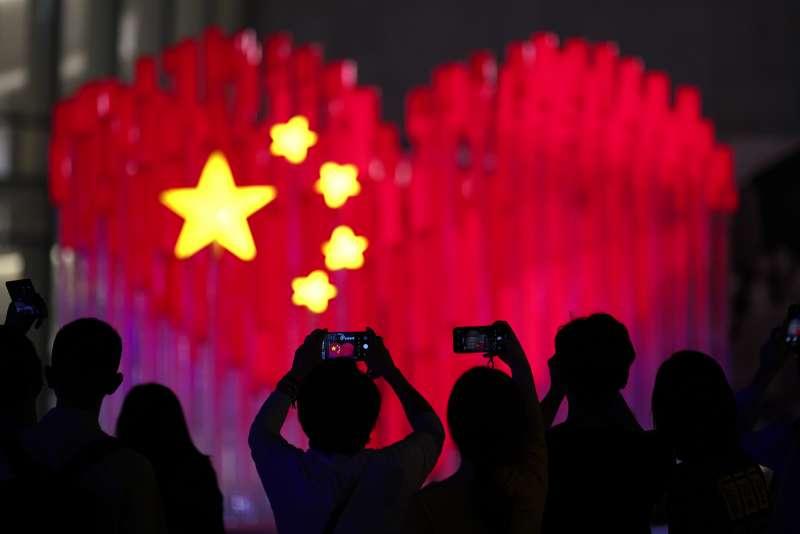 中國正在籌備「十一國慶」,展現70年來在經濟、軍事等發展方向的繁榮。(AP)