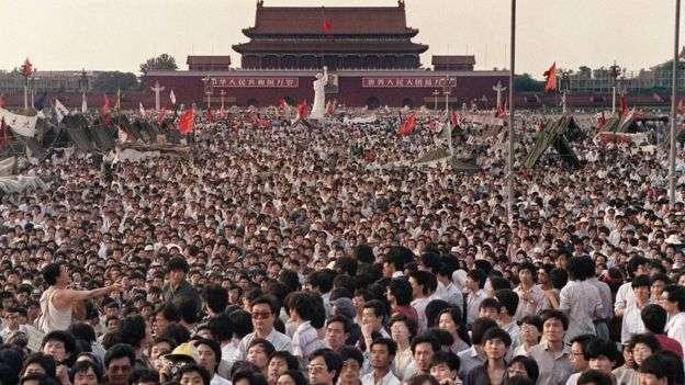 有關「天安門事件」的訊息在中國大陸遭嚴格審查。(BBC中文網)