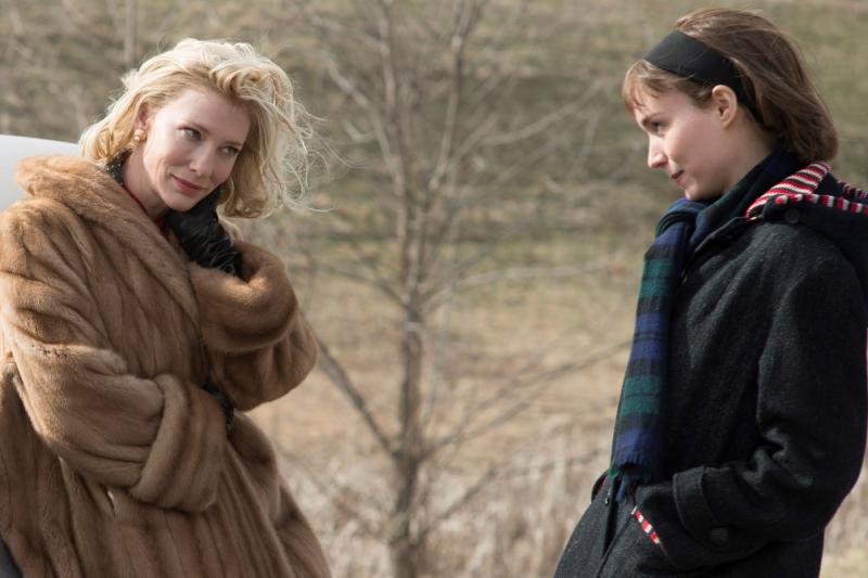 《因為愛你》中凱特布蘭琪魅惑的眼神,簡直讓全世界為之傾倒。(圖/IMDb)
