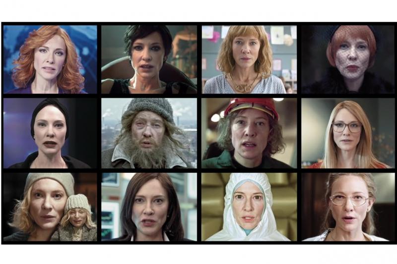 凱特布蘭琪挑戰一次扮演12個角色,超強演技大炸裂!(圖/IMDb)