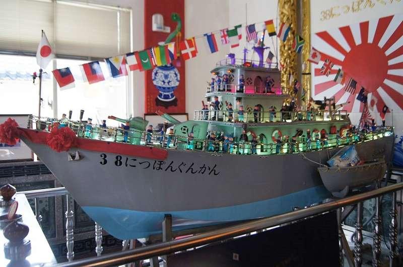 海府元帥一直託夢給信徒,說軍艦一定要跟他的38號軍艦一模一樣。(圖/維基百科)