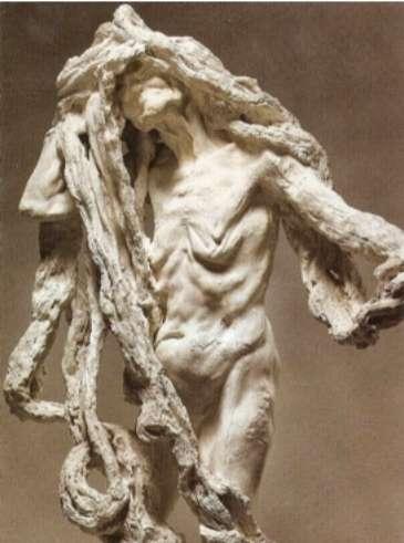 卡蜜兒作品《Clotho》,1893年,藏於羅丹美術館。