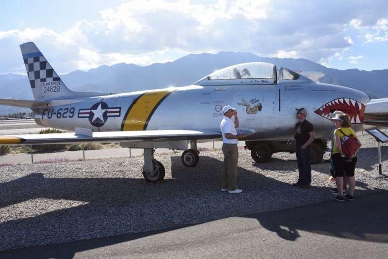 國人最熟悉的F-86F戰鬥機,在1957年到1958年海峽最為動盪的歲月中,創下了一場又一場擊落中共米格機的輝煌紀錄。(作者許劍虹提供)