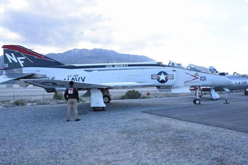 越戰時美軍最具代表性的機種,當然是F-4幽靈式戰鬥機了。(作者許劍虹提供)