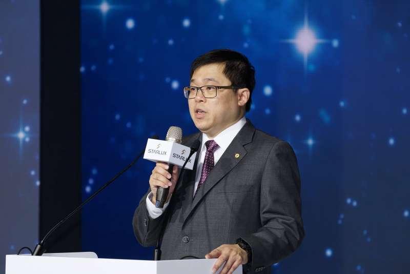 20191002-星宇航空舉行「JX Style制服暨機艙發表會」,董事長張國煒致詞。(盧逸峰攝)