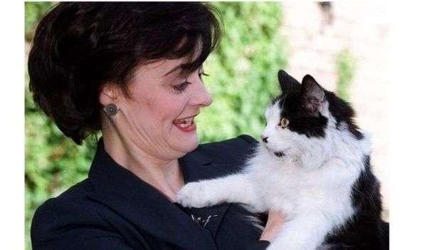 已經過世的前任捕鼠大臣漢弗萊。(BBC中文網)