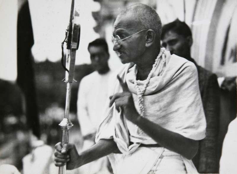 印度聖雄甘地誕辰150周年。(AP)