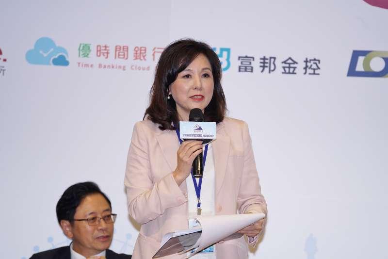 20191003-理事長李紀珠出席玉山科技年會。(盧逸峰攝)