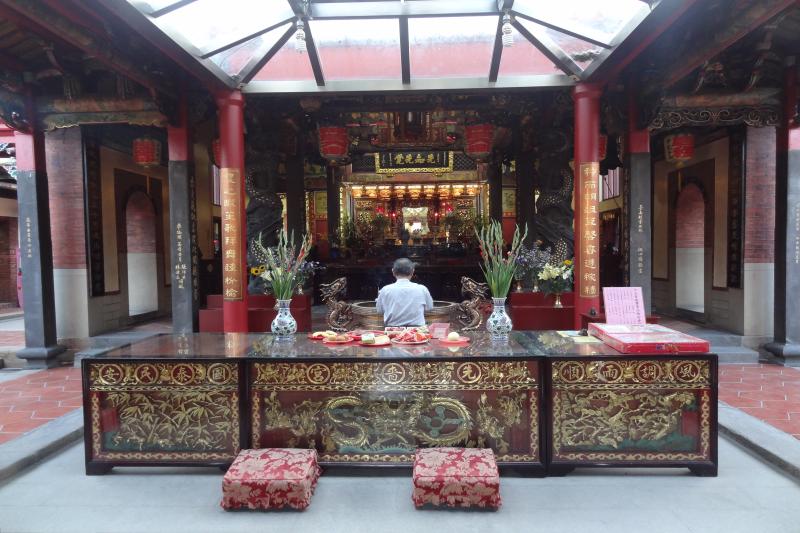 三重廟宇眾多,與信仰息息相關。(圖/Flickr@)