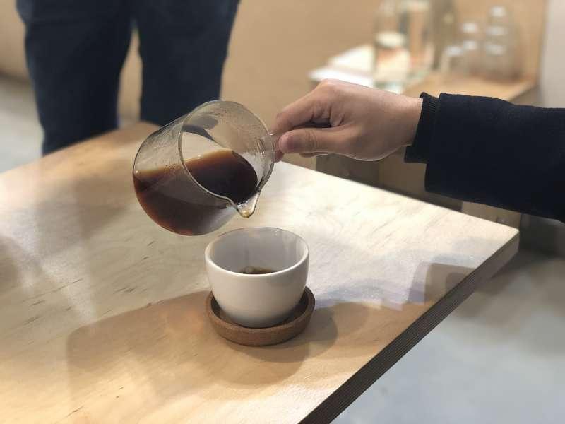精品咖啡成為現在的流行趨勢。(圖/何沛璇)