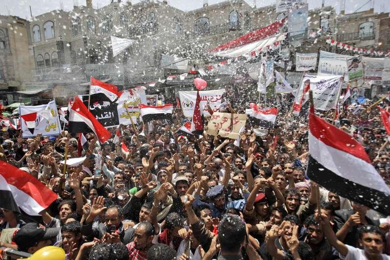 (圖/social media in Arab spring)
